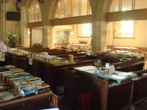 St_Edwards_Book_sale_1